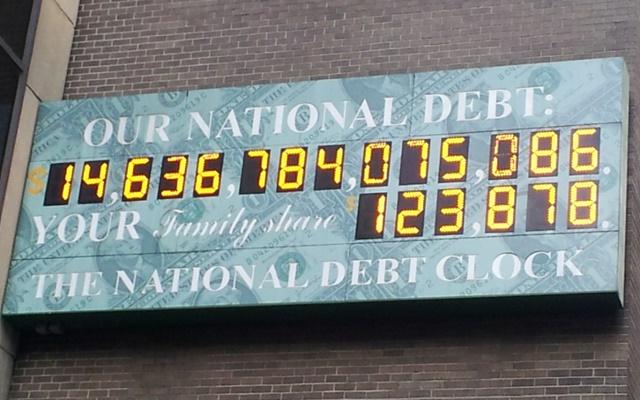 Пугающие факты о государственном долге США
